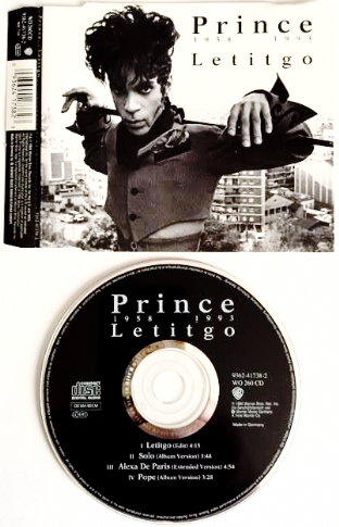 Prince - Letitgo (CD Single) (G+/G)